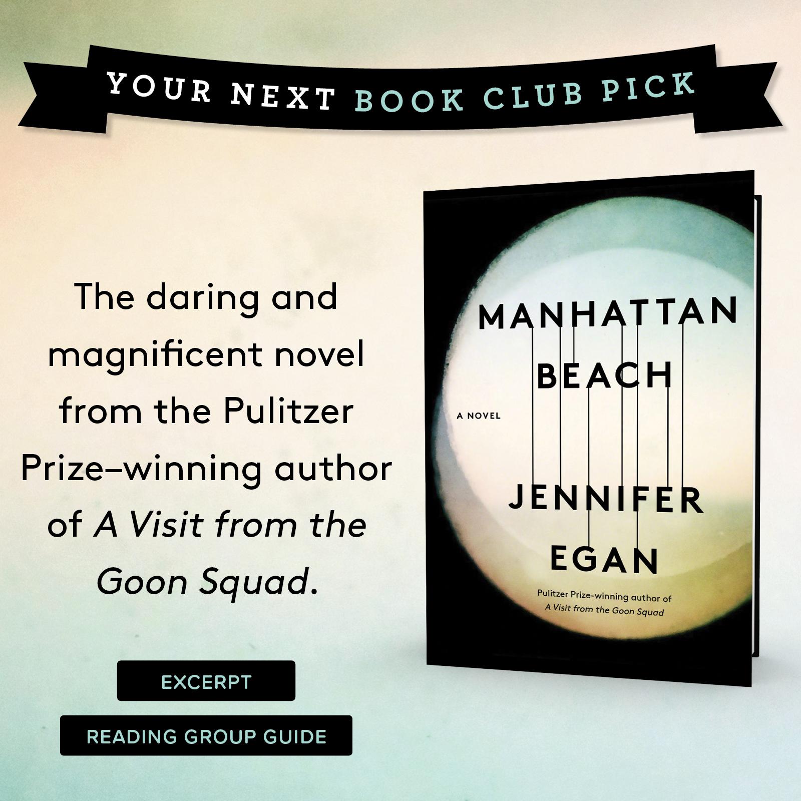 Bookclub Book of the Month - Manhattan Beach