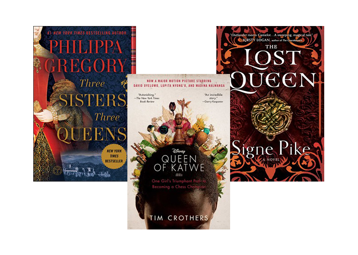Collections triptych lit queens